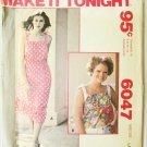 McCAll 6047 misses summer dress or top size Large 18 to 20