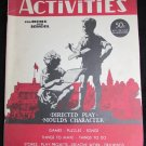 Children's Activities Magazine November 1945 great toy ads vintage