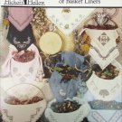 Potpourri of Basket Liners 12 cross stitch designs by Hickory Hollow