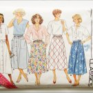 Butterick 3826 misses skirt sizes L XL pattern