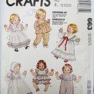 "McCall 663 baby doll pattern sizes S 12-14"" M 16-18"" L 20-22"" UNCUT"