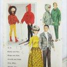 """Butterick 3317 fashion doll male 12""""  female  11 1/2"""" patterns unuct"""