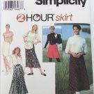 Simplicity 9363 misses 2 hour shirt sizes 18 20 22 short long