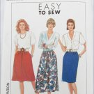 Simplicity 9600 misses skirt sizes 16 18 20 22 24 pattern