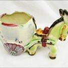 Donkey planter or ashtray Japan china