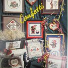 Stoney Creek Confetti cross stitch pattern book 26 clowns sayings