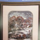 Currier & Ives Sleepy Hollows cross stitch pattern leaflet Esmark Collection