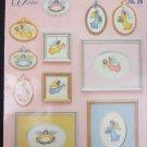 Angels in Pastel cross stitch leaflet No 29 Designing Women 5 designs
