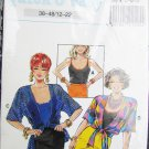 Quick & Easy pattern misses jacket overblouse and tank top sizes 38 to 48 UNCUT