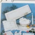 Imaginating Simply Elegant Hardanger Booklet II wedding pillow table runner book cover