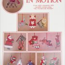 Holiday in Motion cross stitch or plastic canvas pattern ornaments 12 designs