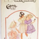 Simplicity 7347 girl's dress UNCUT pattern size 5 fancy full skirt