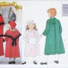 Butterick 4167 girls child coat capelet muff hat UNCUT pattern sizes 4 5 6