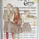 Simplicity 9609 girl's skirt blouse jacket pattern size 14 cut Cinderella pattern