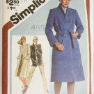 Simplicity 9825 misses wrap coat jacket size 16 bust 38 UNCUT pattern
