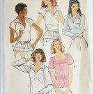 Butterick 6120 misses blouse size 14 36 bust pattern