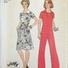 Simplicity 6384 misses jiffy dress pants size 16 UNCUT pattern 1974