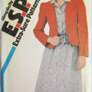 Simplicity 5712 misses dress & jacket sizes 12 14 16 UNCUT pattern