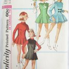 Simplicity 6203 junior girl cheerleader skater dress size 13 bust 33 pattern