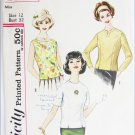 Simplicity 4523 misses blouse size 12 bust 32 vintage pattern