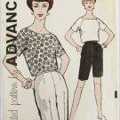 Advance 9680 misses blouse pattern size 12 UNCUT