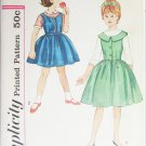 Simplicity 4582 girls dress jumper blouse size 10 pattern