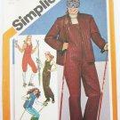 Simplicity 9785 misses ski outfit pants jacket sizes 6 & 8 UNCUT pattern