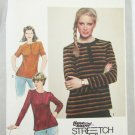 Simplicity 9634 misses stretch knit top sizes 8 10 12 UNCUT pattern
