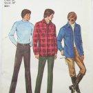 Simplicity 9694 mans pants shirt jacket size 40 UNCUT pattern vintage 1971