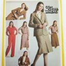 Simplicity 9716 misses ensemble skirt jacket pants blouse UNCUT pattern size 14
