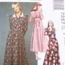 McCall 7257 misses dress pattern sizes 8 10 12 UNCUT