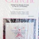 "Current cross stitch kit wedding congratulations card 5 x 7"""