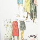 Simplicity 9099 misses skirt three lengths size 10 waist 24 UNCUT pattern