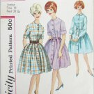 Simplicity 4519 misses full skirt fitted top dress circa 1960s size 11 bust 31 1/2
