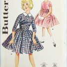 Butterick 9911 girls party dress size 12 breast 30 circa 1960 UNCUT pattern