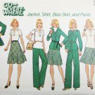 Simplicity 7070 misses jacket shirt bias skirt pants size 16 B38 UNCUT pattern