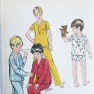 Butterick 5737 boys pajamas size 8 UNCUT pattern