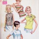 Simplicity 7549 misses blouse size 14 bust 36 UNCUT vintage pattern 1968