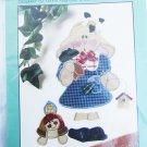 Just Be 'Cuz rabbit & friends turtle applique pattern Kenna Reynolds