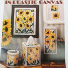 Leisure Arts 1603 Sunflowers in Plastic Canvas or cross stitch needlepoint pattern