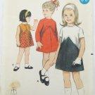 Butterick 3712 girls A line dress size 5 vintage pattern