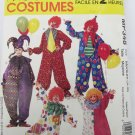 McCall MP348 adult clown pattern size Medium 34 to 36