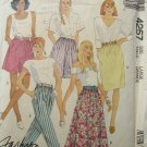 McCall 4257 misses skirts culottes shorts pants size 18-20 patern