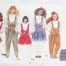 Butterick 5081 girls jumper jumpsuit & top size 7 8 10 pattern