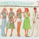 McCall 6026 misses jacket top skirt pants size 10 Bust 32 1/2 pattern