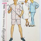 Simplicity 5039 man's night shirt pajamas size Medium chest 38-40