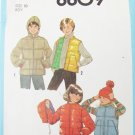 Simplicity 8809 boys vest  jacket with without hood size 10 vintage 1978 pattern