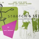 Ann Person Stretch & Sew 300 ladies pullover cardican top UNCUT sizes 28 34 36 to 44
