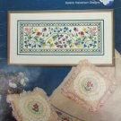 Flower Garden cross stitch pattern booklet Helene Halverson
