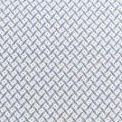 Quilting fabric small cross hatch squares blue on soft white background 45""